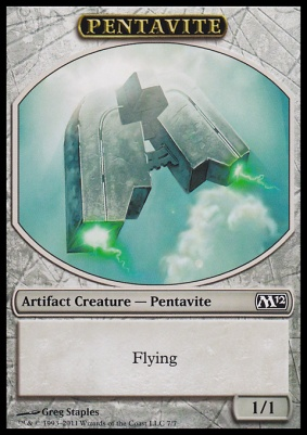 2012 Core Set: Pentavite Token