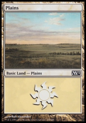 2012 Core Set: Plains (230 A)