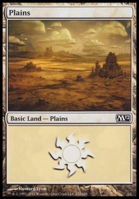 2012 Core Set: Plains (232 C)