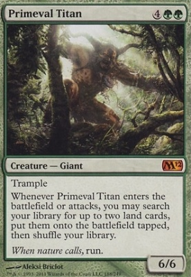 2012 Core Set: Primeval Titan