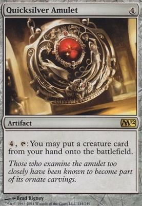 2012 Core Set Foil: Quicksilver Amulet