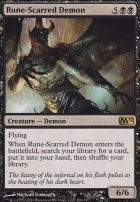 2012 Core Set Foil: Rune-Scarred Demon