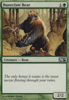 2012 Core Set Foil: Runeclaw Bear