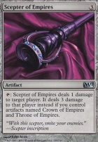 2012 Core Set Foil: Scepter of Empires