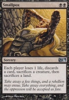 2012 Core Set Foil: Smallpox