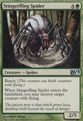 2012 Core Set Foil: Stingerfling Spider