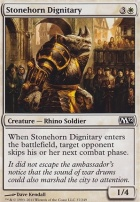 2012 Core Set: Stonehorn Dignitary