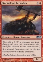 2012 Core Set Foil: Stormblood Berserker