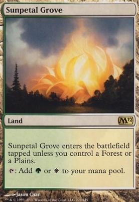 2012 Core Set: Sunpetal Grove