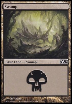 2012 Core Set: Swamp (238 A)
