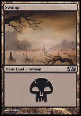 2012 Core Set: Swamp (239 B)