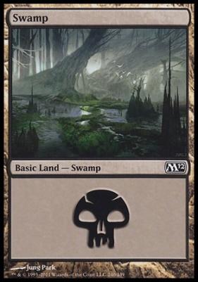 2012 Core Set: Swamp (240 C)