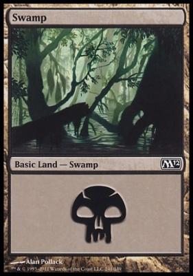 2012 Core Set: Swamp (241 D)