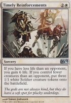 2012 Core Set Foil: Timely Reinforcements