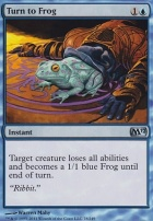 2012 Core Set Foil: Turn to Frog