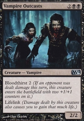 2012 Core Set: Vampire Outcasts
