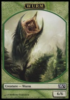 2012 Core Set: Wurm Token