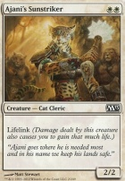 2013 Core Set Foil: Ajani's Sunstriker