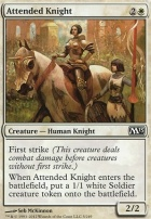2013 Core Set Foil: Attended Knight