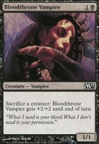 2013 Core Set Foil: Bloodthrone Vampire