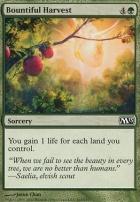 2013 Core Set Foil: Bountiful Harvest