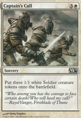 2013 Core Set: Captain's Call