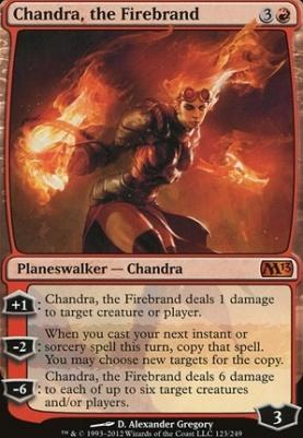 2013 Core Set: Chandra, the Firebrand