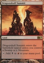 2013 Core Set Foil: Dragonskull Summit