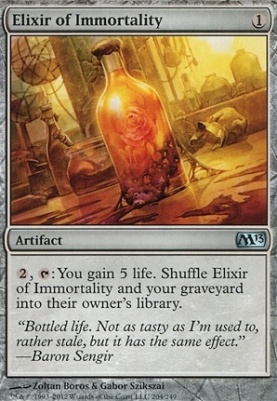 2013 Core Set: Elixir of Immortality