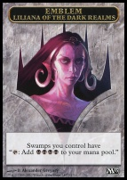 2013 Core Set: Emblem (Liliana of the Dark Realms)