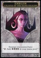 2013 Core Set: Emblem (Liliana of the Dark Realms)