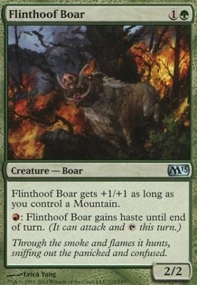2013 Core Set: Flinthoof Boar