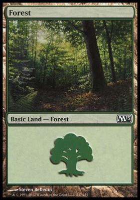 2013 Core Set: Forest (247 B)