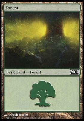 2013 Core Set: Forest (248 C)