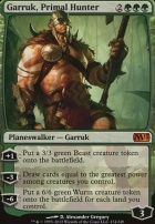 2013 Core Set Foil: Garruk, Primal Hunter