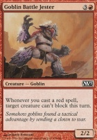 2013 Core Set Foil: Goblin Battle Jester