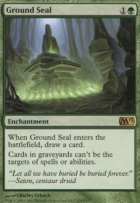 2013 Core Set Foil: Ground Seal