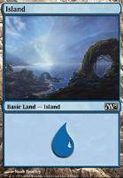 2013 Core Set: Island (235 B)