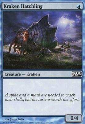 2013 Core Set: Kraken Hatchling