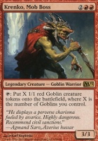 2013 Core Set Foil: Krenko, Mob Boss