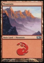 2013 Core Set: Mountain (244 C)