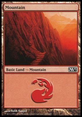 2013 Core Set: Mountain (245 D)