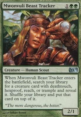 2013 Core Set: Mwonvuli Beast Tracker