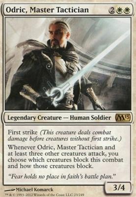 2013 Core Set Foil: Odric, Master Tactician