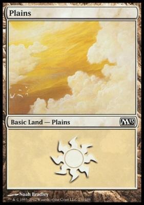 2013 Core Set: Plains (231 B)