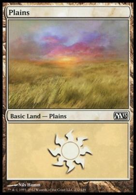 2013 Core Set: Plains (232 C)