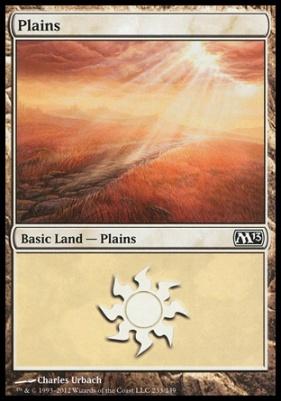 2013 Core Set: Plains (233 D)