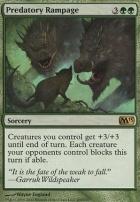 2013 Core Set: Predatory Rampage