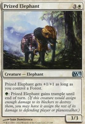 2013 Core Set Foil: Prized Elephant