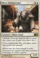 2013 Core Set: Rhox Faithmender